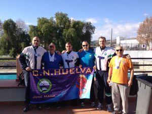Equipo master del Club Natación Huelva.