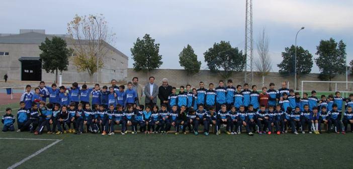Escuelas de fútbol base de San Juan del Puerto.