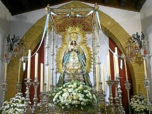 Montemayor vestida para la Inmaculada.