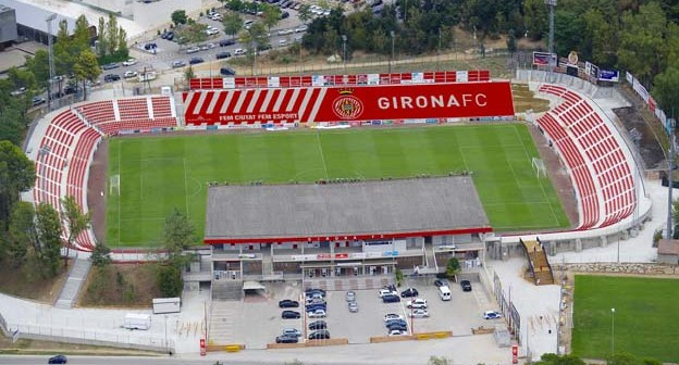 Estadio de Montilivi, del Girona.