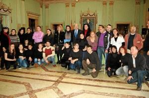 Visita al Ayuntamiento de Huelva.
