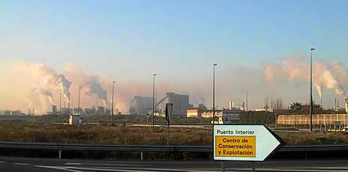 Polo Químico de Huelva.