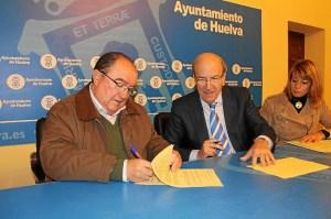 Firma convenio Banco Alimentos.