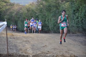 Campeonato de Andalucía universitario de de campo a través.
