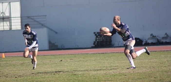 Partido del Recreativo Bifesa Tartessos de rugby.