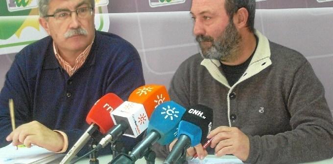 Arazola y Jiménez en rueda de prensa.