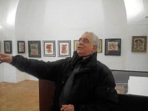 Miguel Caiceo en Santa Clara de Moguer.