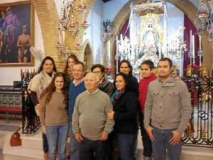 VILLAMANRIQUE HACE DOS SEMANAS EN MONTEMAYOR EN CENTRO FUNDADOR FILIAL ENRIQUE MARQUEZ
