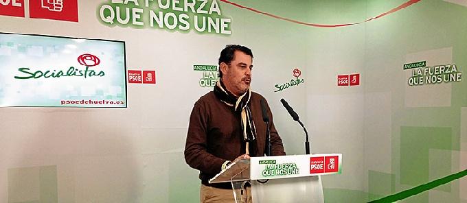 Ferrera en rueda de prensa.
