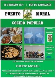cartel cocido popular puerto moral 2014