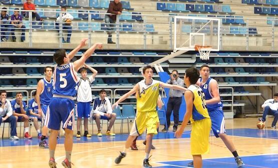 Fase final junior de baloncesto masculino.