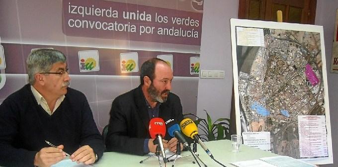 Juan Manuel Arazola y Pedro Jimenez RP IU Huelva 17 marzo 2014