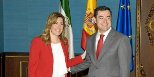 Primer-encuentro-Susana-Diaz-Juan-Manuel-Moreno-Palacio-San-Telmo