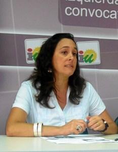 Rebeca Martin, portavoz de IU en Cortegana02