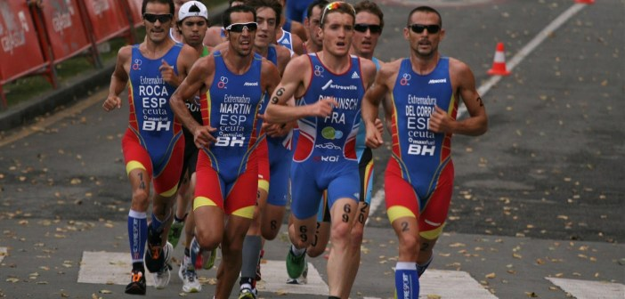 Emilio Martín, triatleta onubense.