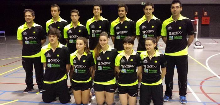 Plantilla del CB Oviedo.