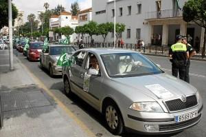 Imagen de archivo de una protesta del CSIF en Huelva.