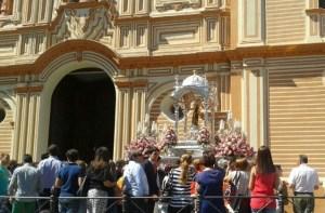 la cinta regresa a su santuario desde la catedral-1