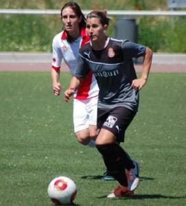 Emma Marqués, nueva jugadora del Fundación Cajasol Sporting. Lalu Albarrán (FutFem.Com)