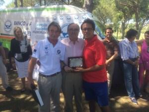 Ganadores del Torneo Banco de Alimentos de golf en Bellavista.