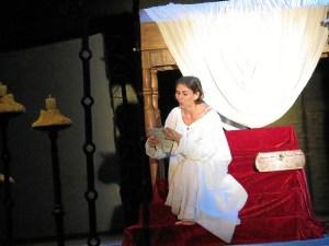 Gema Matarranz en el papel de Juana