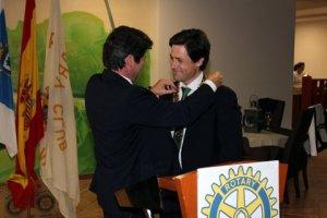 Cambio de collares del Club Rotary Huelva.