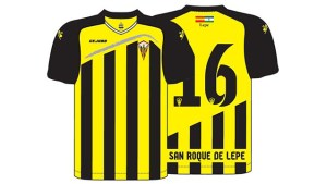 Nueva camiseta del San Roque de Lepe.
