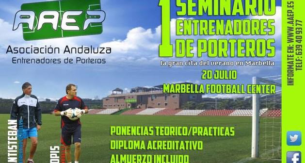 Seminario de porteros en Marbella.