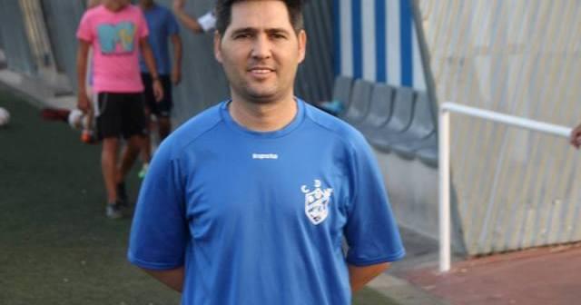 Juancris, entrenador del CD San Juan.