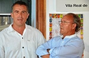 los autores, Carlos Afonso y Jose luis rua.
