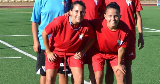 Nuevas jugadoras del Fundación Cajasol Sporting.