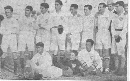 Once de La Palma CF de 1919.