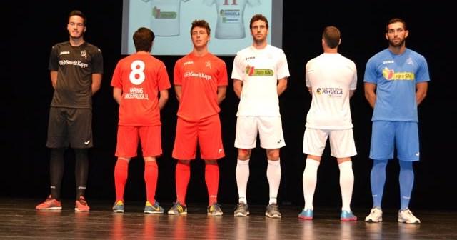 Presentación de equipaciones de La Palma CF.