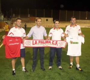 Juancris, presentado como nuevo entrenador de La Palma CF.