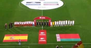 Partido internacional España-Bielorrusia.