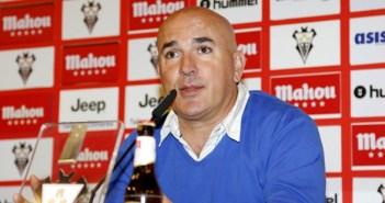 Luis César Sampedro, técnico del Albacete Balompié.