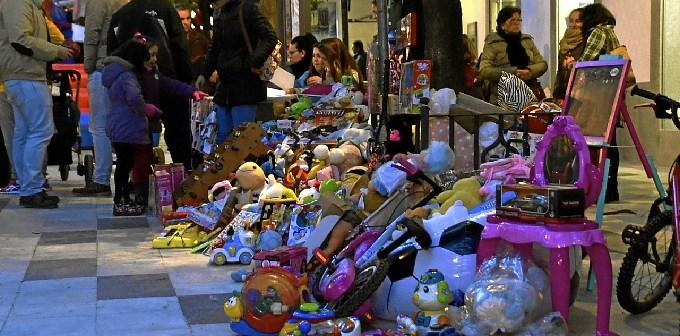Imagen de archivo de una recogida de juguetes en 2014.