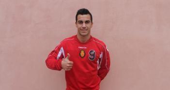 Joselu, nuevo jugador del Mallorca.