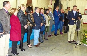 Bienvenida del alcalde de Moguer