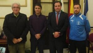 Convenio entre el Recreativo IES La Orden y el Ayuntamiento de San Juan del Puerto.