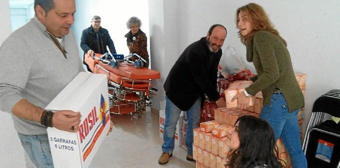 IU con alimentos para la poblacion saharaui