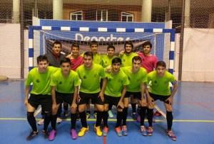 Equipo juvenil de La Palma FS.