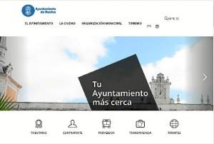 Nueva web Ayto Huelva