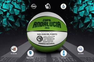 Cartel de la Copa Andalucía de baloncesto masculino.
