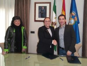 Convenio del Recreativo IES La Orden con la Diputación Provincial.