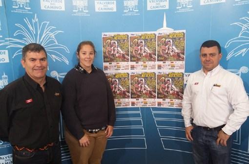 Presentación del Campeonato de España de motocross en Valverde del Camino.