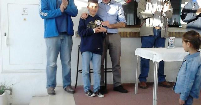 Carlos Delay, regatista del Club Marítimo de Huelva.