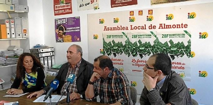 Firma Acuerdo IU-Cooperativistas Plan Almonte-Marismas