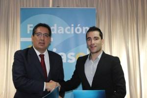 Convenio entre la Fundación Cajasol y el Recreativo IES La Orden.