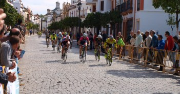 Trofeo de ciclismo en La Palma del Condado.